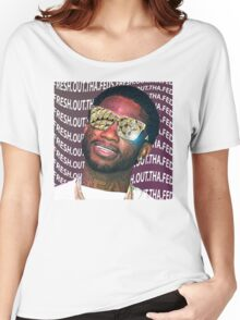 Gucci Mane- Fresh.Out.Tha.Feds Women's Relaxed Fit T-Shirt