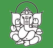 Ganesh Ganesa Ganapati 3 (2 colors) T-Shirt