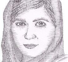 Malala Yousafzai by rosiec