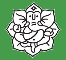 Ganesh Ganesa Ganapati 2 (2 colors) by MysticIsland