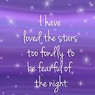 I have loved the stars by VieiraGirl
