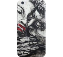 Lovers - Just A Kiss iPhone Case/Skin