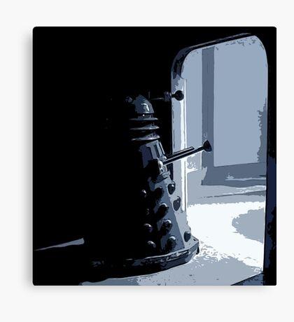 Dalek in the Wings Canvas Print
