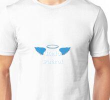 Halo Patrol  white on blue Unisex T-Shirt