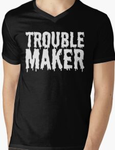 Trouble Maker - Dripping Slime T Shirt Mens V-Neck T-Shirt
