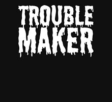 Trouble Maker - Dripping Slime T Shirt Womens Fitted T-Shirt