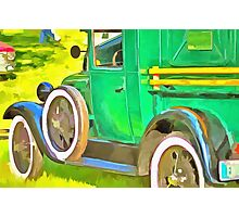 The Green Machine Photographic Print