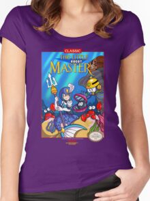 The Little Robot Master Women's Fitted Scoop T-Shirt