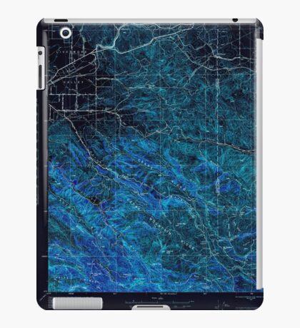 USGS TOPO Map California CA Tesla 301818 1943 62500 geo Inverted iPad Case/Skin