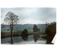 River Flats near Hay on Wye United Kingdom 198405170091 Poster