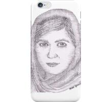 Malala Yousafzai iPhone Case/Skin