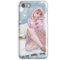 Winter Girl iPhone Case/Skin