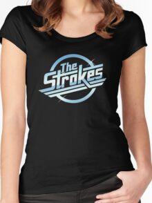 The Strokes V2 Women's Fitted Scoop T-Shirt