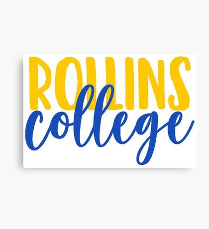 Rollins College Canvas Print