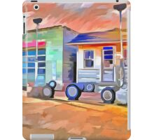 Old Gas Station iPad Case/Skin