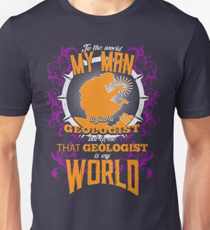 Proud of my Geologist Unisex T-Shirt