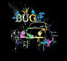 Beetle - Splash by blulime