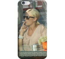 Outdoor Cafe iPhone Case/Skin