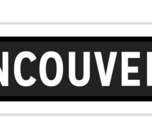 Vancouver Sticker