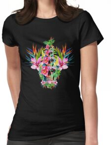 Skull Tower Womens Fitted T-Shirt