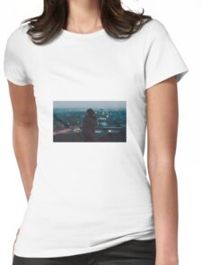 Lonely Girl Womens Fitted T-Shirt