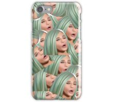 Kylie Jenner Derp Face iPhone Case/Skin