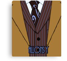 Brown Suit Canvas Print