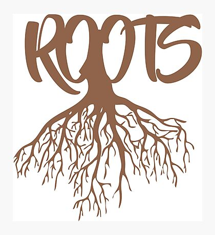 Roots Style art Photographic Print