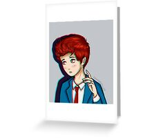 Hesitant Alien - Gerard Way Greeting Card