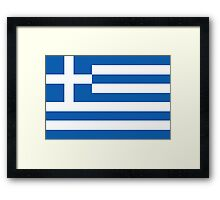 Greece - Standard Framed Print