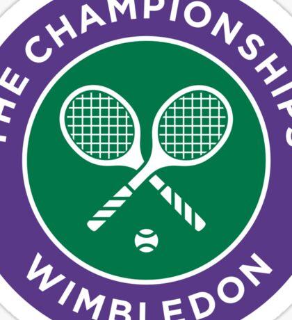 Wimbledon Champion Sticker