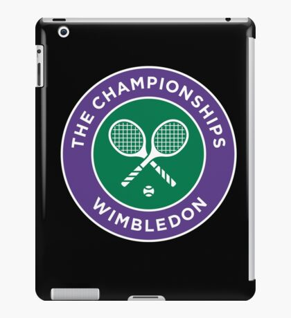 Wimbledon Champion iPad Case/Skin