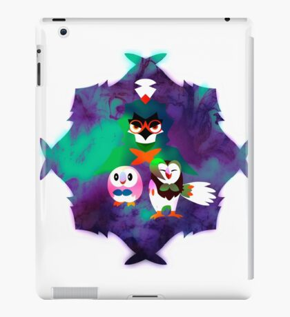 Rowlet Evolutions Pokemon iPad Case/Skin