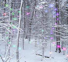 Snow Fairy Forest 2 by ChereeCheree