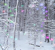 Snow Fairy Forest 2 by ChereeCheree