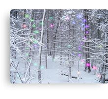 Snow Fairy Forest 2 Canvas Print