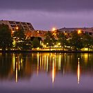 Lake Ginninderra in Canberra/Australia before Sunrise (2) by Wolf Sverak