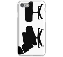 Eames, chair iPhone Case/Skin