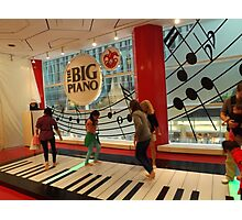 The Big Piano, FAO Schwarz Toy Store, New York City Photographic Print