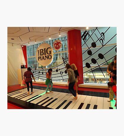 The Big Piano, FAO Schwarz Toy Store, New York City Photographic Print