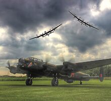 The Prince`s Break - The 3 Lancasters East Kirkby - HDR by Colin  Williams Photography