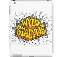 Bill and Ted - Wyld Stalyns - Logo iPad Case/Skin