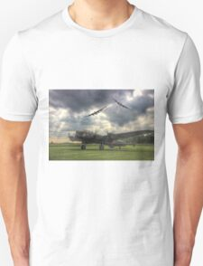 The Prince`s Break - The 3 Lancasters East Kirkby - HDR T-Shirt