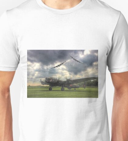 The Prince`s Break - The 3 Lancasters East Kirkby - HDR Unisex T-Shirt