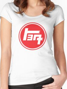 Retro Japan Toyota Women's Fitted Scoop T-Shirt