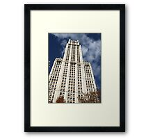 Classic Woolworth Building, Lower Manhattan, New York City Framed Print