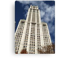 Classic Woolworth Building, Lower Manhattan, New York City Canvas Print