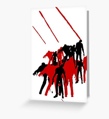 zombies 2 Greeting Card