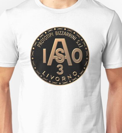 Bizzarrini ISO A3L Grifo Brass Badge Unisex T-Shirt