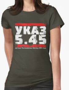 УКАЗ 5.45 Womens Fitted T-Shirt
